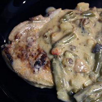 Pork Chops O'Brien with Creamy Gravy