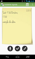 Screenshot of Asistente Agenda