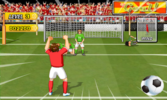 Screenshot of Football Shoot
