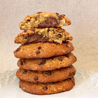 Nutella- Filled Banana Cookies