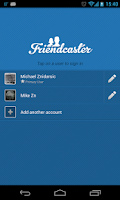 Screenshot of Friendcaster