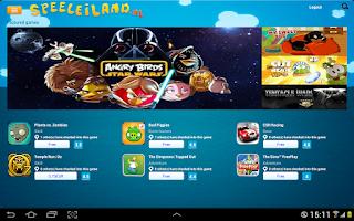 Screenshot of Speeleiland