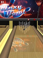 Screenshot of Galaxy Bowling ™ 3D