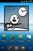 Screenshot of Meme Clock II
