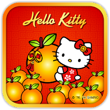 Hello Kitty Orange CNY