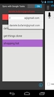 Screenshot of Reminders