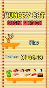 Hungry Cat: Sushi Edition - screenshot