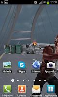Screenshot of Zombie Live Wallpaper PRO