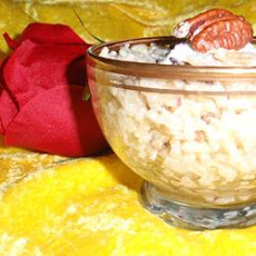 Pecan Rice Pudding