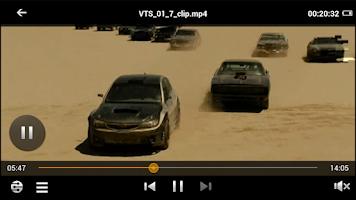 Screenshot of SmartDlna