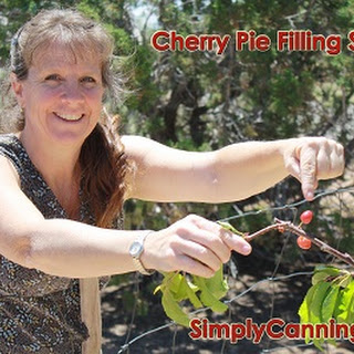Canning Cherry Pie Filling