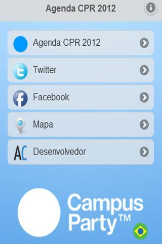 Agenda Campus Party Recife 12