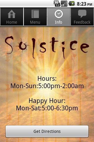 Solstice SF