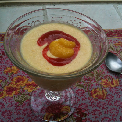 Mango-Lemon Soup