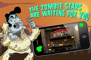 Screenshot of Crazy Bill: Zombie stars hotel