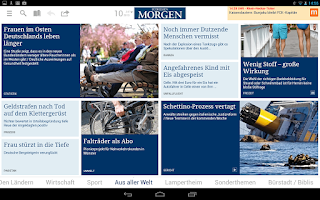 Screenshot of Südhessen Morgen