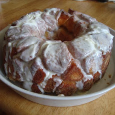 Breakfast Bundt Bread (Aka Monkey Bread Aka Pull-Apart Bread)