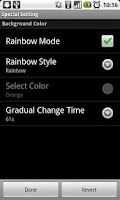 Screenshot of Mood Alarm Clock