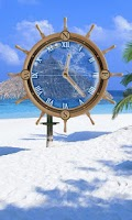 Screenshot of My Beach Clock Live Wallpaper
