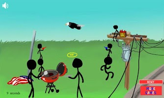 Screenshot of Stickman Stick Save