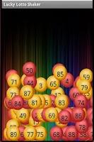 Screenshot of Lucky Lotto Shaker