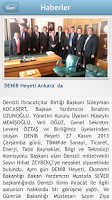 Screenshot of DENİB