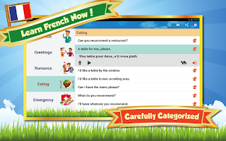 Screenshot of Learn French