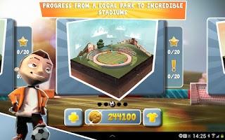 Screenshot of Soccer Moves