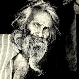 satisfaction by Ashwin Kothari - People Portraits of Men