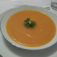 Peas and Pumpkin Soup