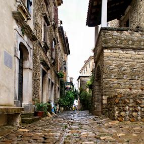 Grožnjan-Istria-Croatia by Branka Radmanić - City,  Street & Park  Historic Districts