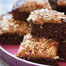 Caramel-Coconut Fudge Brownies