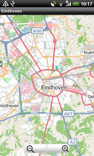 Eindhoven Street Map