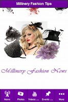 Screenshot of Millinery Fashion Tips & News