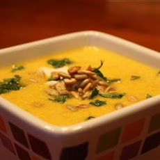 Butternut, Apple and Yogurt Soup