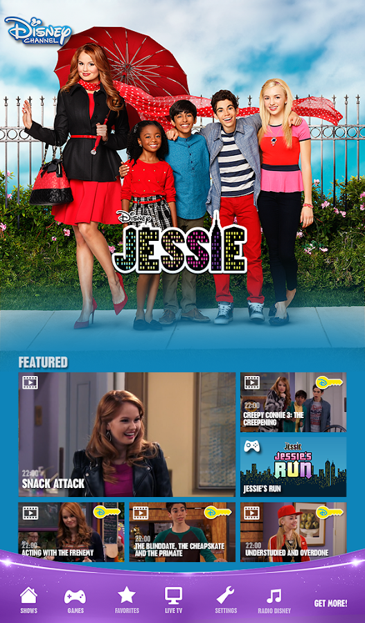 Disney Channel  - Watch & Play Screenshot 11