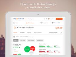 Screenshot of ING DIRECT España. Banca Móvil