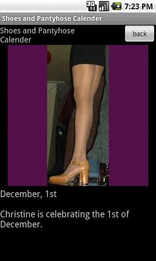 【免費娛樂App】Shoes&Pantyhose Calendar 2011-APP點子