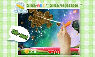 Screenshot of Slice-ABC for Kids