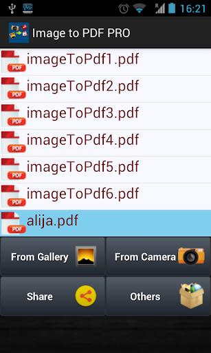 Image To PDF PRO - screenshot