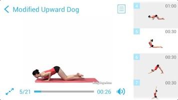 Screenshot of Daily Yoga for Chest (PRO)