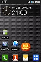 Screenshot of Halloween Widget
