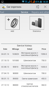 Car Expenses APK screenshot thumbnail 10