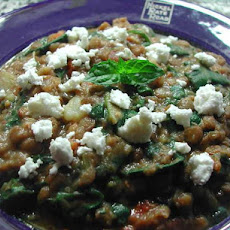Lentil Stew With a Mediterranean Twist