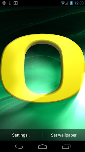 Oregon Ducks Live WPs Tone