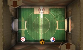 Screenshot of Cardboard Football Club 3D