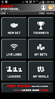 Screenshot of LRP Fantasy Sportsbook