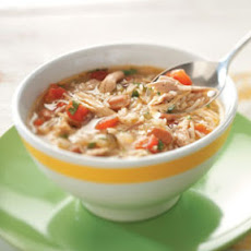 Cajun Chicken & Rice Soup Recipe