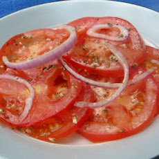 Greek Marinated Tomatoes