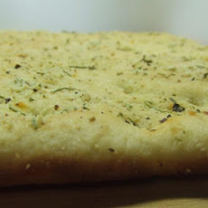 Focaccia Flat Bread Homemade (Bread Machine)